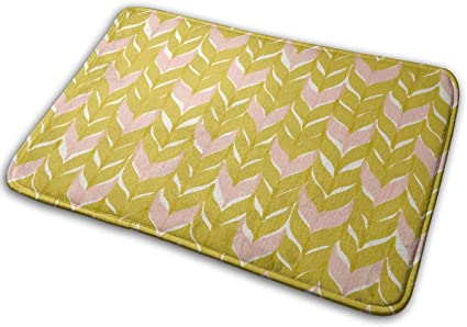 "Image ofBLSYP Felpudo The Art of Sugar Quadrilateral Doormat Anti-Slip House Garden Gate Carpet Door Mat Floor Pads 15.8"" X 23.6"""