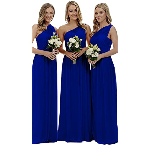 Royal Blue Long Bridesmaid Dresses: Amazon.com