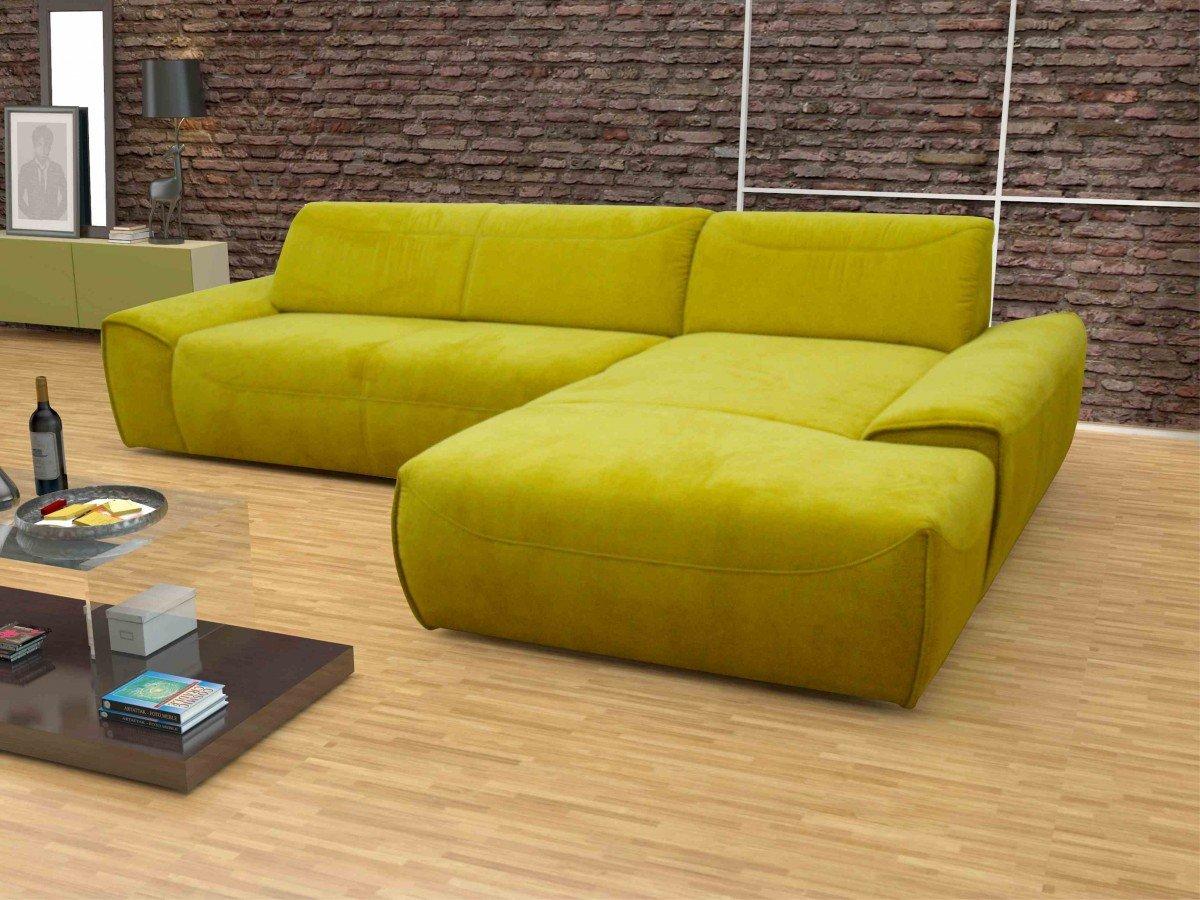 Dreams4home Polsterecke London Sofa Ecksofa Sitzverbreiterung Couch