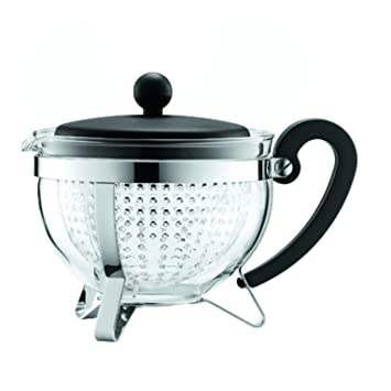 Bodum Teekanne amazon com bodum chambord 1 liter tea pot 34 ounce black
