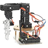 SainSmart Contrôle Palettisation Robot Arm Bras de Robot Mécanique Modèle Bricolage w / Contrôleur Arduino et Servos (6-Axis)