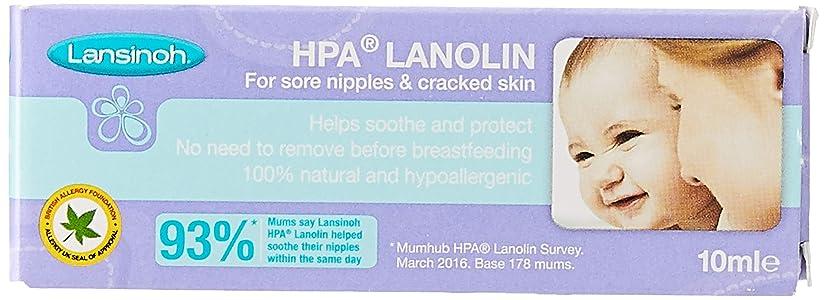 Lansinoh Lanolina Hpa® Crema per Capezzoli Irritati, 10ml. 100% Naturale
