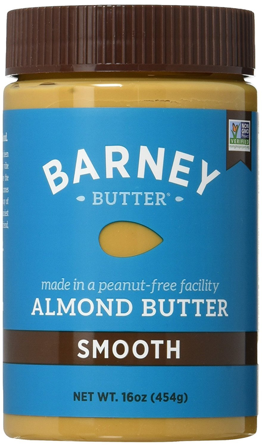 Barney & Co Almond Butter, Smooth, 16 Oz (Pack of 4) by Barney Butter