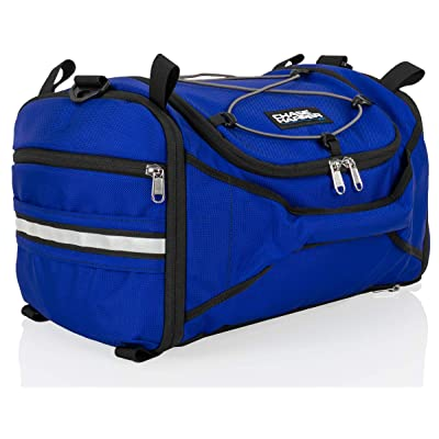 Chase Harper USA 4250 Deluxe Hide-Away Tail Trunk - Water-Resistant, Tear-Resistant, Industrial Grade Ballistic Nylon - Universal Fit Bungee Mount System - Blue: Automotive