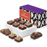 Fairytale Brownies Halloween Magic Morsel Dozen Gourmet Chocolate Food Gift Basket - 1.5 Inch x 1.5 Inch Bite-Size…