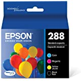 EPSON T288 DURABrite Ultra Ink Standard Capacity Black & Color Cartridge Combo Pack (T288120-BCS) for select Epson Expression