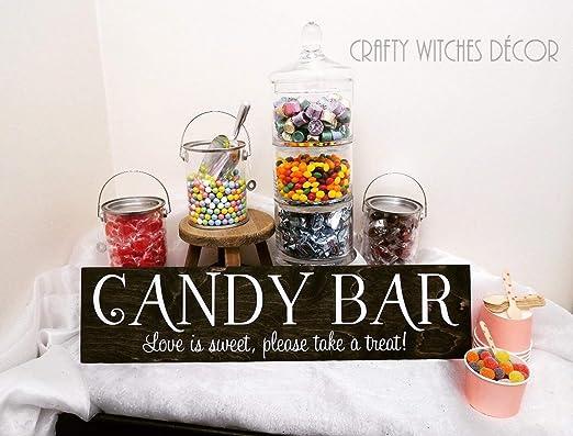 Claude16Poe Candy Bar - Cartel de Boda, Cartel, Cartel ...