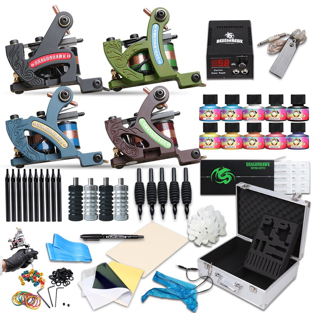 100 cheap tattoo kits recommendation grinder tattoo for Cheap tattoo kits amazon