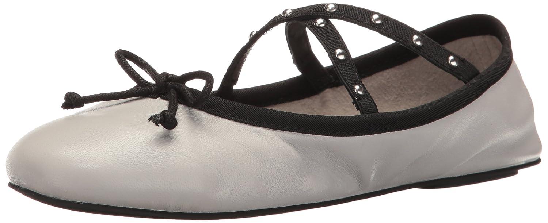 Steve Madden Women's Twirls Ballet Flat B01M3XIQB4 8.5 B(M) US|Grey Leather