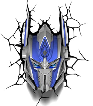 Amazon transformers 3d wall art nightlight optimus prime transformers 3d wall art nightlight optimus prime aloadofball Images