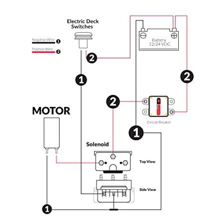 Amazon Five Oceans Reversing Solenoid Dual Direction Control. Amazon Five Oceans Reversing Solenoid Dual Direction Control Box 3wire Motors Windlass 12v Fo32931 Sports Outdoors. Wiring. 24vdc Attwood Trolling Motor Wiring Diagram At Scoala.co