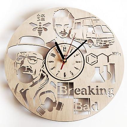 Breaking Bad Wood Wall Clock