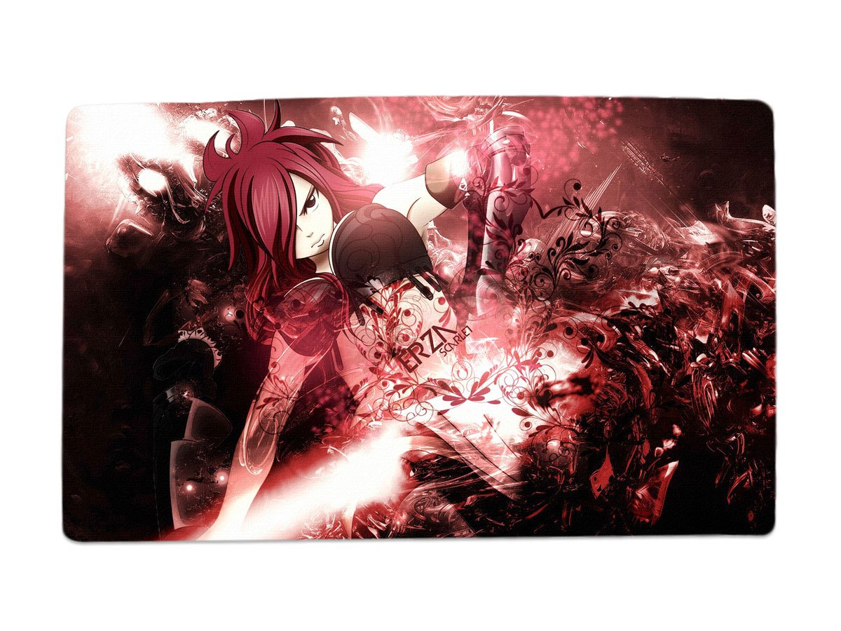 A Wide Variety of Fairy Tail Anime Characters Desk & Mouse Pad Table Play Mat (Erza Scarlet 1) JDOKML POSAwis