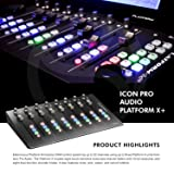 Icon Pro Audio Platform B+ - 50-Button Module for