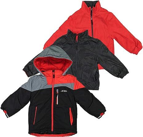 LONDON FOG Boys Little Active Puffer Jacket Winter Coat 4 Super Navy