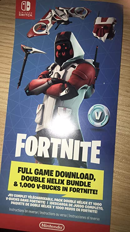 Amazon Com Fortnite Nintendo Switch Game Card Skin Card Toys Games