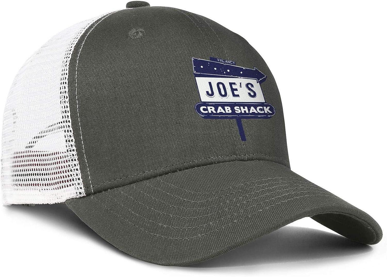 WintyHC Joes Crab Shack Logo Cowboy Hat Bucket Hat Adjustable Fits Baseball Cap