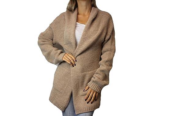 verfügbar Niedriger Verkaufspreis heiß-verkaufender Beamter HUMANOID Damen Cardigan Gr. M Beige Rose OTYS Wolle ...