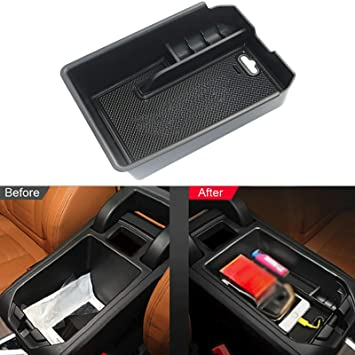 Secondary Storage Box Insert Glove Compartment Car Accessories YEE PIN Centre Console Organizer Tray Armrest Tray for X3 G01// X4 G02 2018 2019