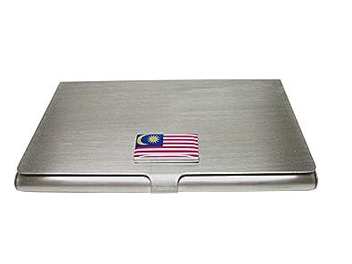 Amazon malaysia flag pendant business card holder jewelry malaysia flag pendant business card holder reheart Choice Image