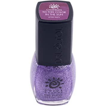 Del Sol Color Changing Nail Polish Quick Dry Lacquer That Changes Hue In The Sun