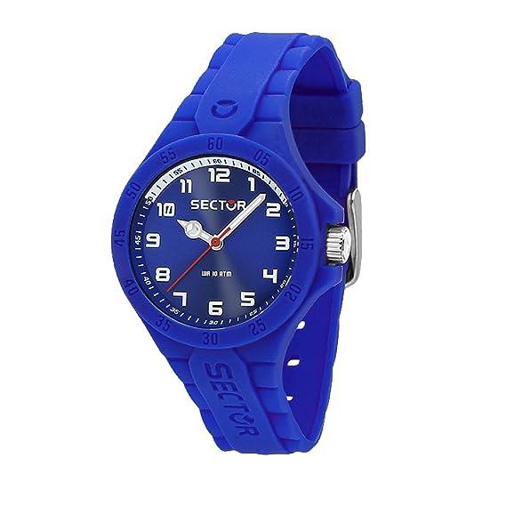 SECTOR Reloj Analógico para Mujer de Cuarzo con Correa en Silicona R3251576513: Amazon.es: Relojes