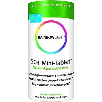 Amazon Com Rainbow Light 50 Minitab Age Defense Formula