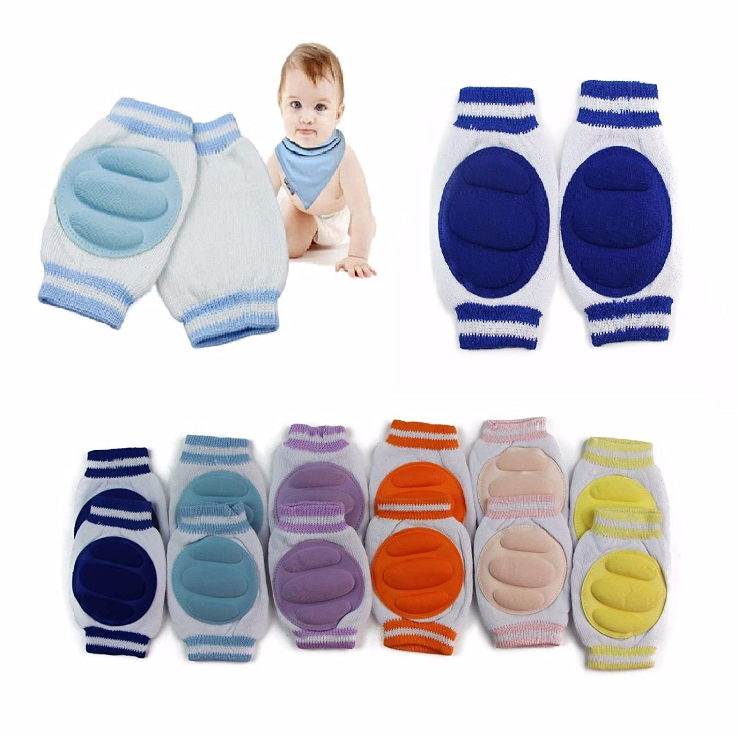 Luckystaryuan ® Big Sale!! Set of 6 Kids Cotton Crawling Leg Warmer hx89caet