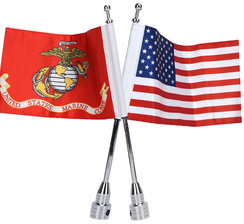 E-most - Bandera estadounidense de 15,24 x 22,86 cm + ...
