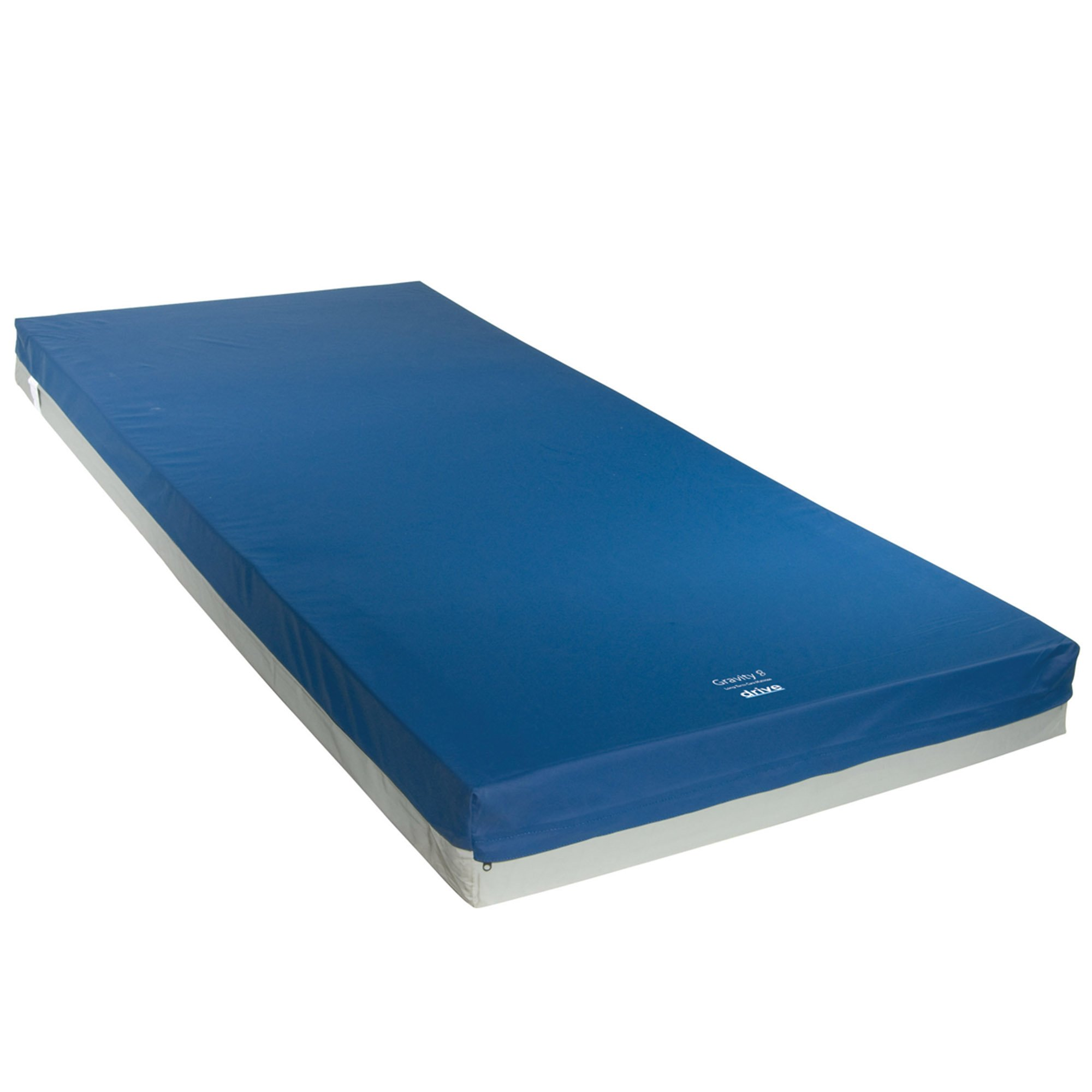 Drive Medical Gravity 8 Long Term Care Pressure Redistribution Mattress, No Cut Out, Medium by Drive Medical