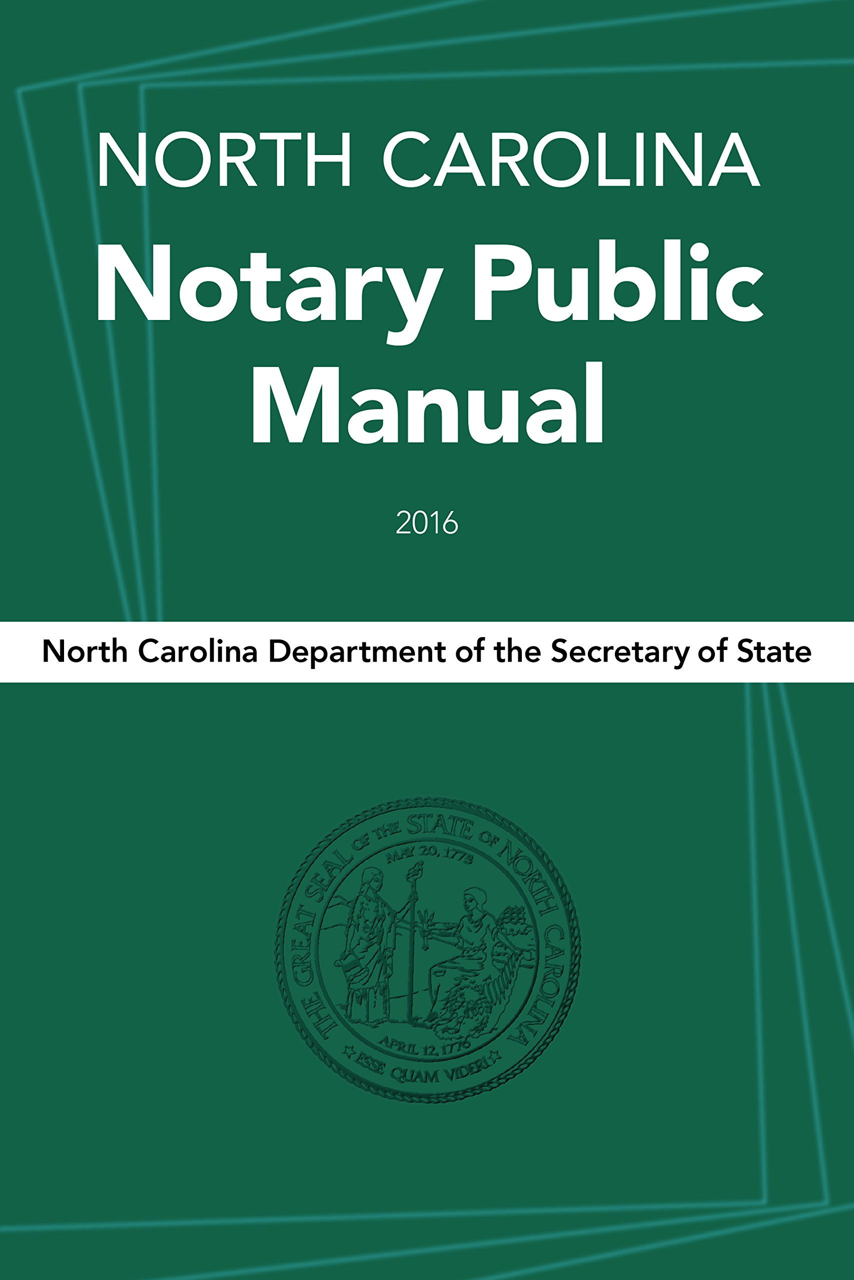 North Carolina Notary Public Manual