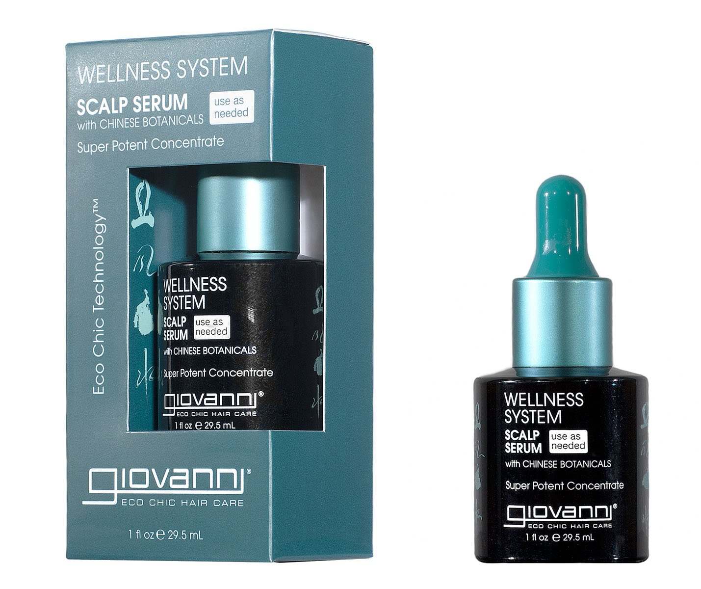 Amazon.com : Giovanni Wellness System Scalp Serum, 1 Fluid Ounce ...