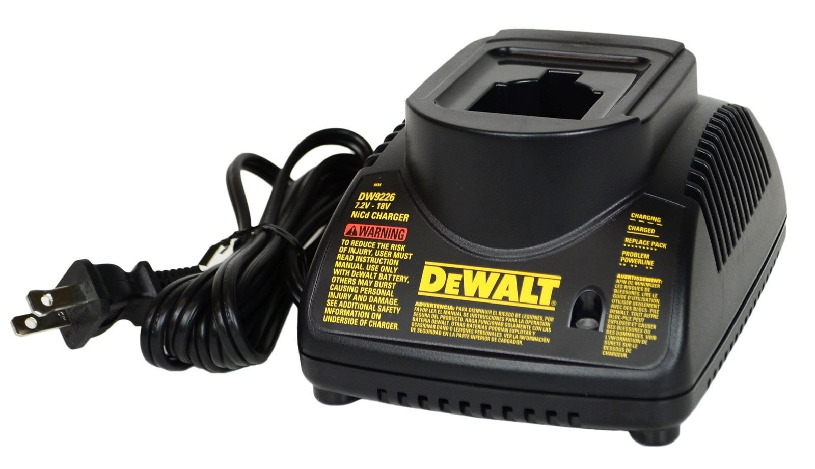 Dewalt DW9226 7.2V - 18V NiCd 1-Hour Battery Charger by DEWALT