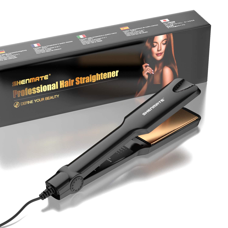 Professional Titanium Flat Iron Hair Straightener