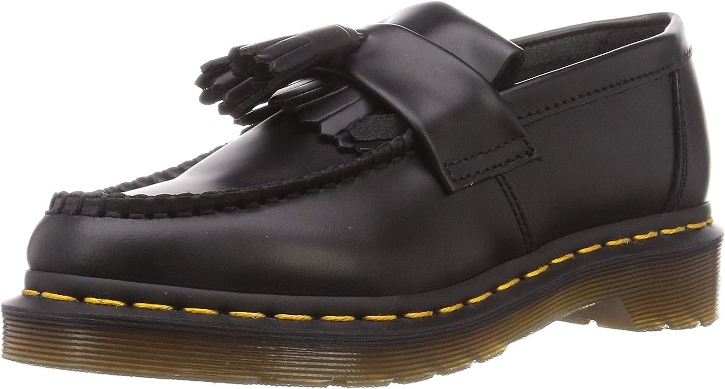 Dr. MartensAdrian_K - Adrian Tassle Mocasín Unisex adulto Hombre , negro (Negro), 41 EU: Amazon.es: Zapatos y complementos