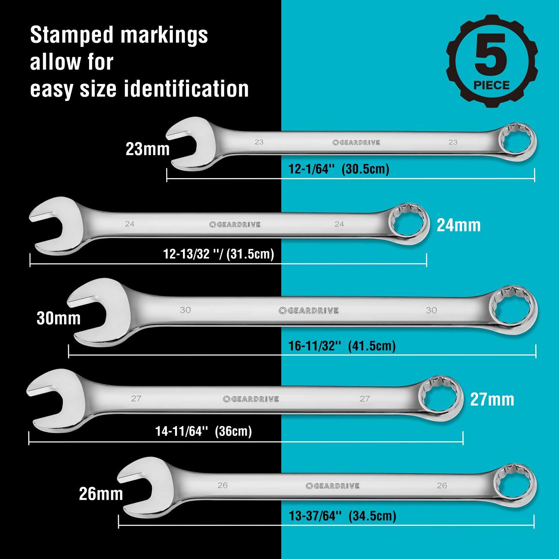 5-Piece CMMT12054 SAE CRAFTSMAN Wrench Set Jumbo