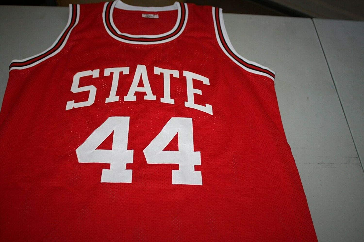 David Thompson Autographed Signed Nc State Wolfpack #44 Auto Custom Jersey 1974 Champs JSA