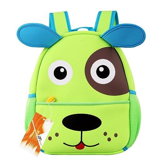 63bd209f84bd Gintai Children Toddler Kid's Backpack 3D Cute Zoo Animal Cartoon Pre School  Hiking Backpack - Dog
