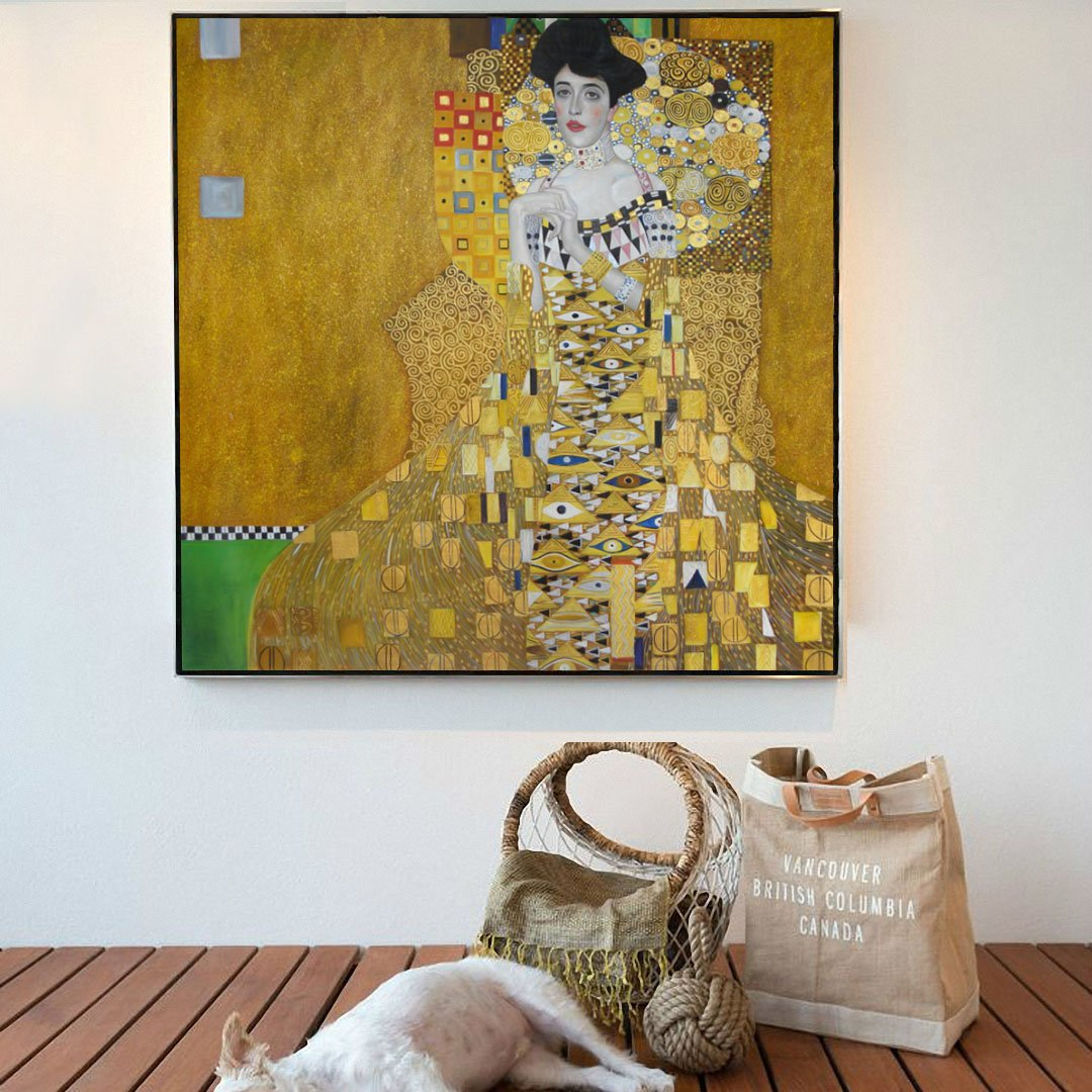 Amazon.com: Portrait of Adele Bloch-Bauer I - Gustav Klimt hand ...