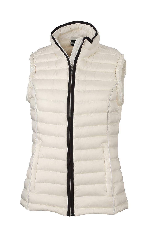James /& Nicholson Womenss Daunenweste Ladies Quilted Down Vest Jacket