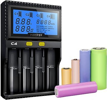 8-Slots 5V USB Output Li-ion 18650 14500 AA AAA Smart Battery Charger Universal