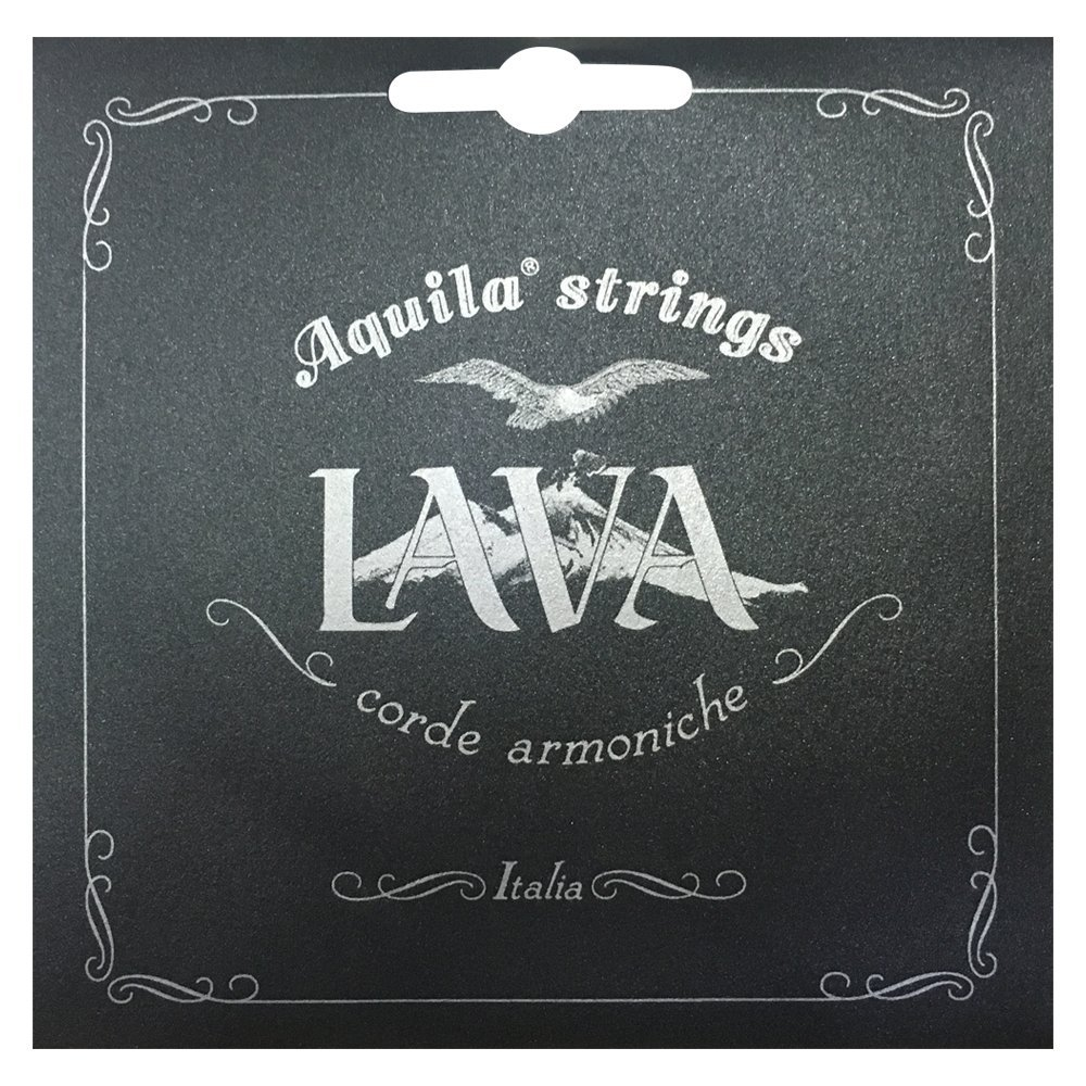 Aquila Lava Series Concert Ukulele String Set Low G Tuning