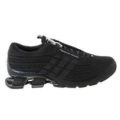 Porsche Design M Bounce S4 Running Sneaker Shoe - Black/Black/Black - Mens