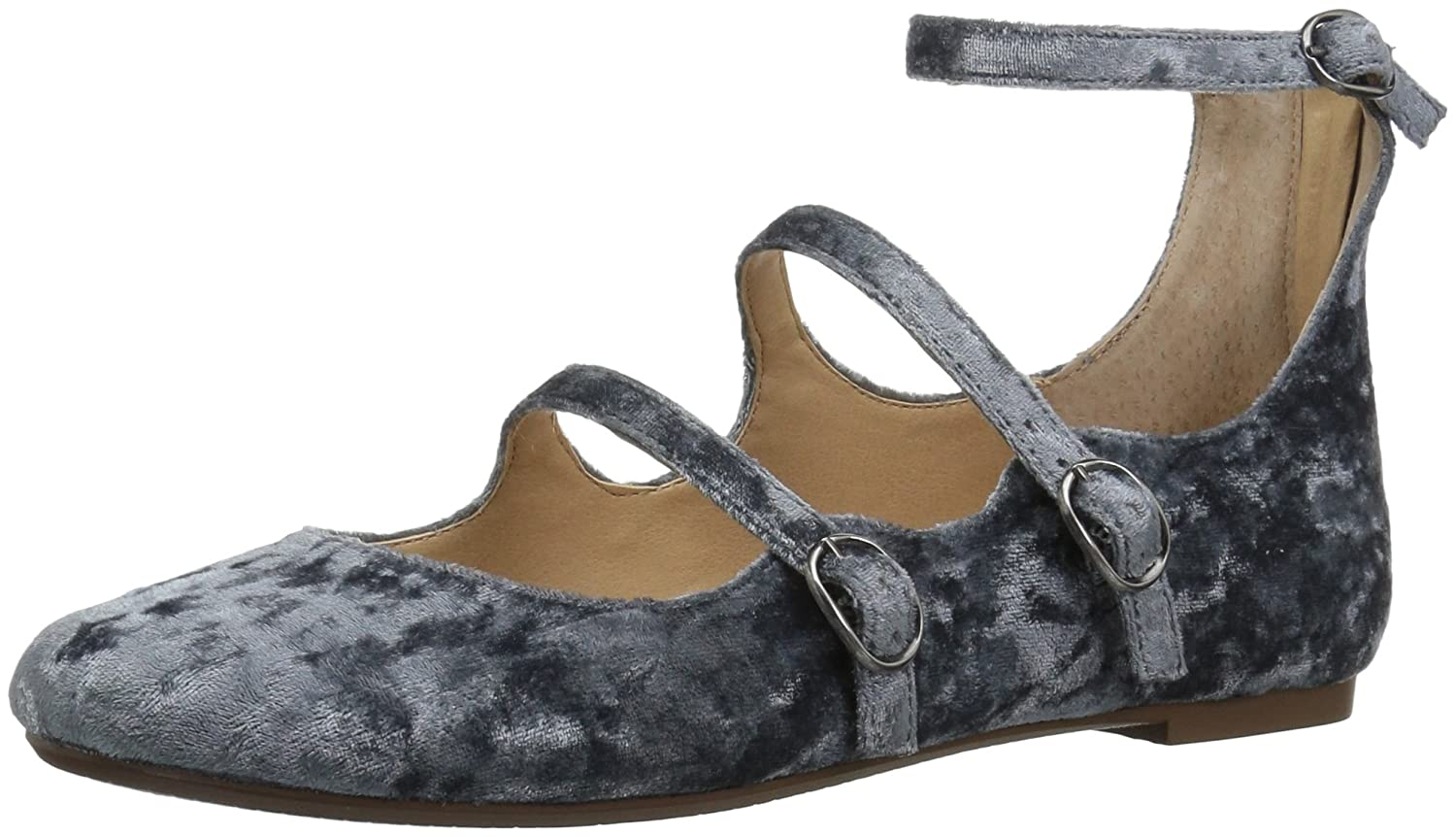 Very Volatile Women's Lumina Mary Jane Flat B06XJB953H 7 B(M) US|Blue