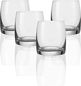 Circleware 44642 Concerto Bohemia Shot Glasses, 2.5 oz, 4pc
