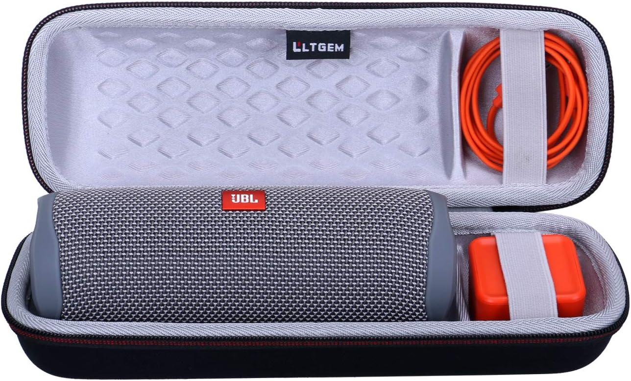 Green LTGEM EVA Hard Carrying Case for JBL FLIP 5 Waterproof Portable Bluetooth Speaker