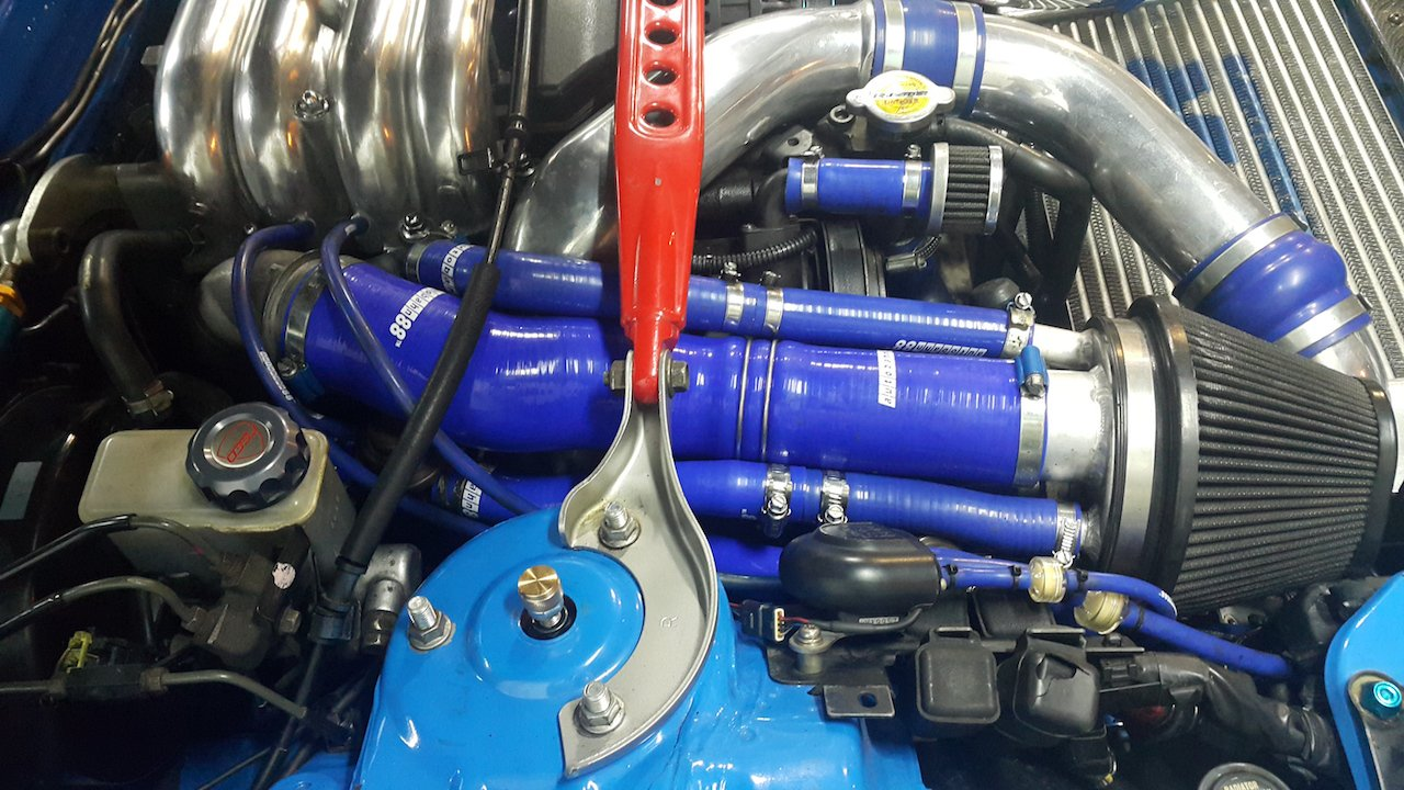 Autobahn88 Radiator Coolant /& Heater Silicone Hose Kit for 2003-2012 Mazda RX8 SE3P 13B MSP Blue -with Clamp Set