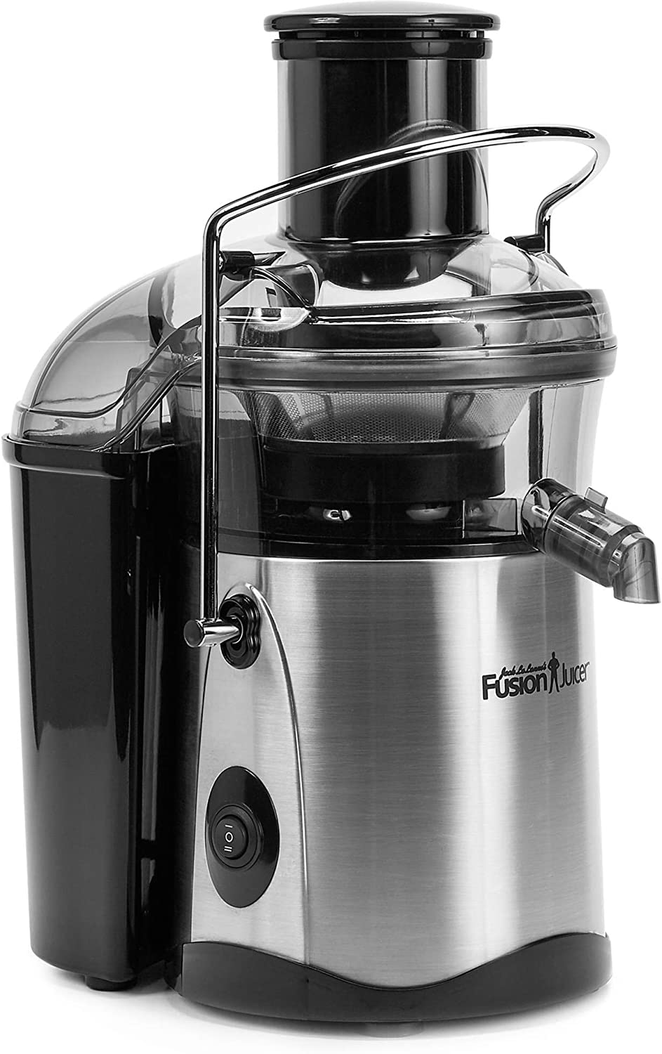 NEW Jack Lalannes JLSS Power Juicer Deluxe Stainless-Steel Electric Juicer