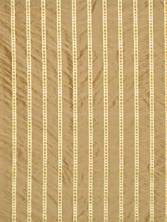Amazon Com S0132 Molasses Brown Yellow Stripes Silk Velvet