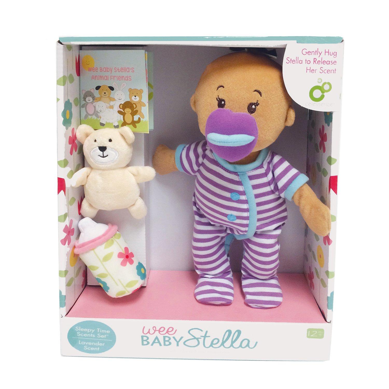Manhattan Toy Wee Baby Stella Beige Sleepy Times Scent 12 Soft Baby Doll Set NA